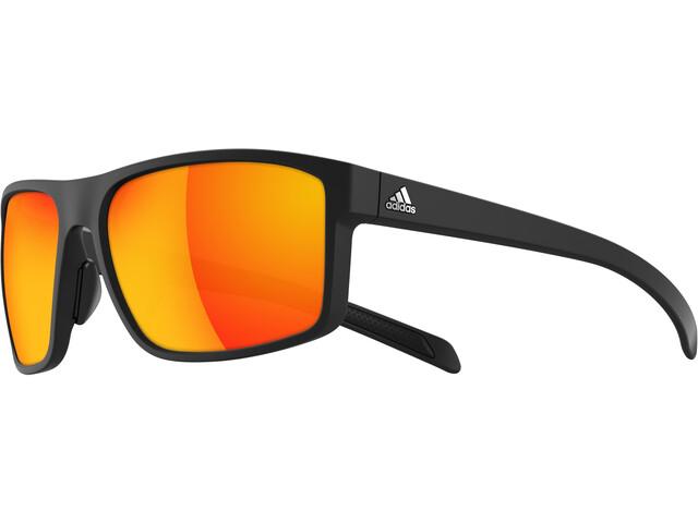 adidas Whipstart Okulary, black matt/black